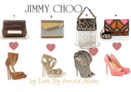 Les accessoires de Jimmy Choo