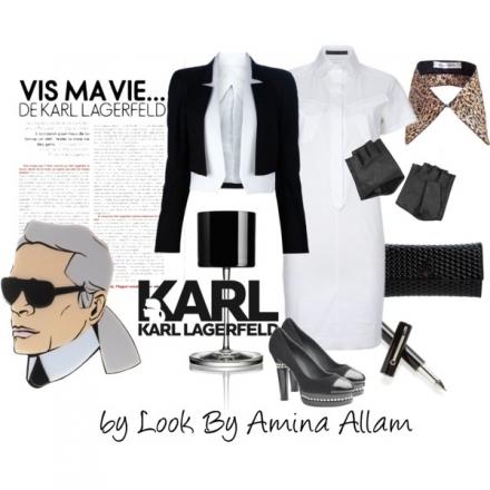 Black&white par Karl Lagerfeld