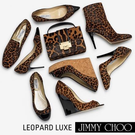 Le léopard par Jimmy Choo