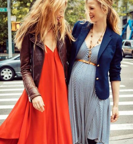 Comment s'habiller tendance pendant la grossesse?