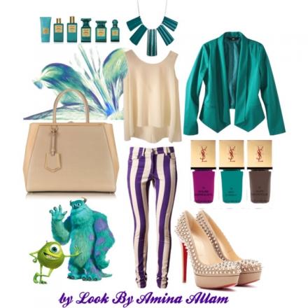 Trois couleurs dans une tenue