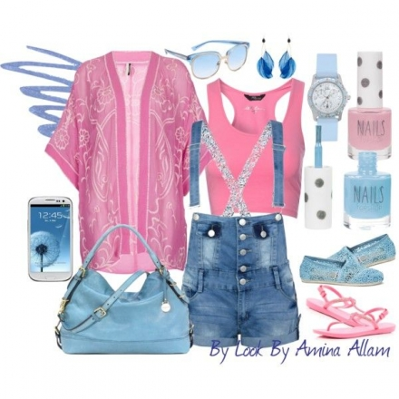 Pink&blue August