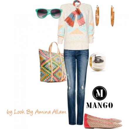 Le look casual de Mango