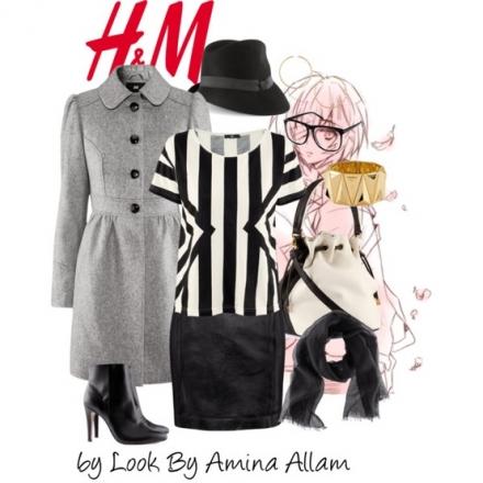 Une tenue monchrome de H&M