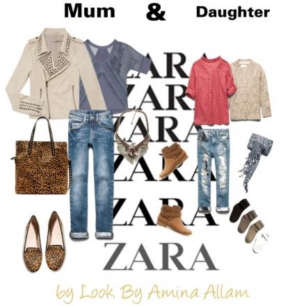 Zara pour maman et fille