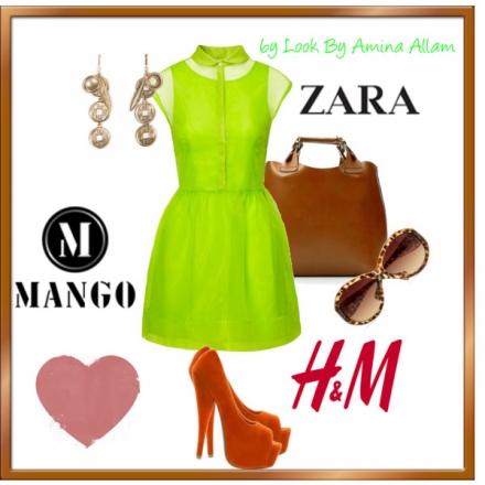 La robe néon de H&M