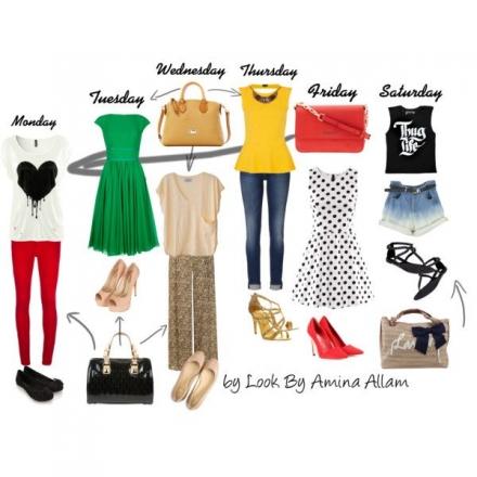 La garde-robe de la semaine
