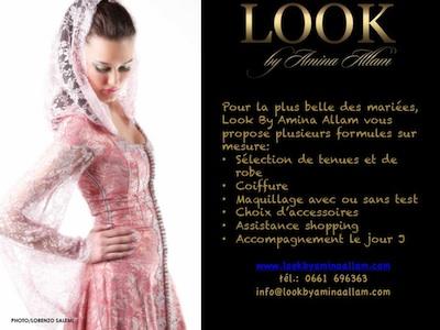 La mariée par Look By Amina Allam