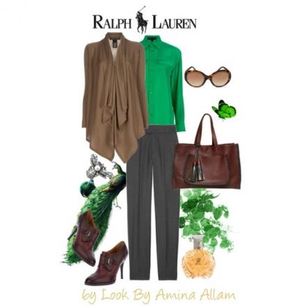 Ralph Lauren pour une journée d'automne
