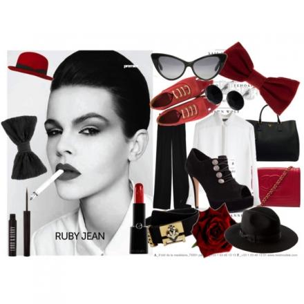 Un choix d'accessoires black & red
