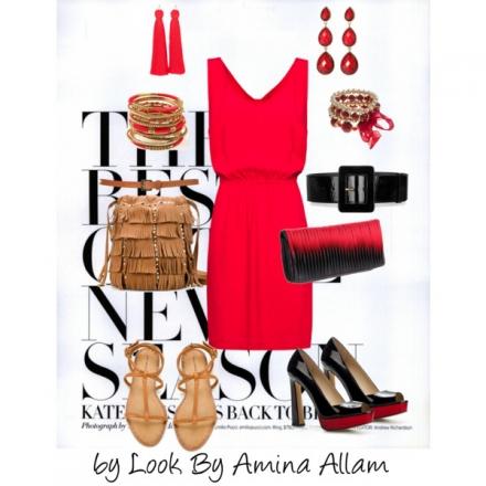Une robe, deux styles