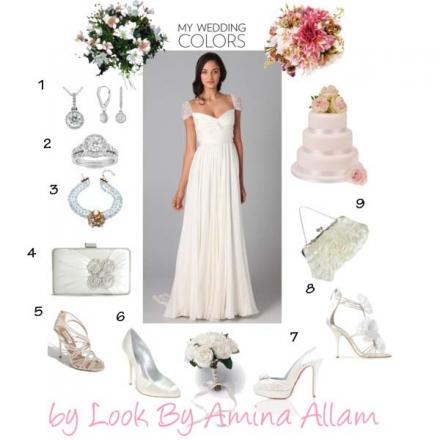 La mariée par Reem Acra