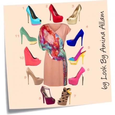 Quelles chaussures pour ma robe?