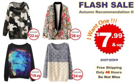 Romwe Flash Sale
