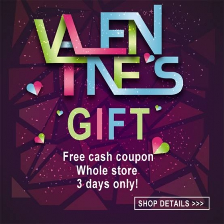 Romwe Valentine's gifts