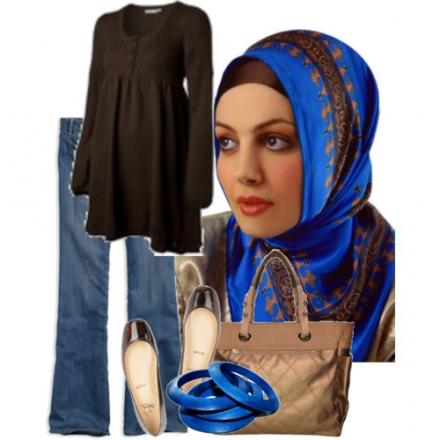 Le look hijab par Nora