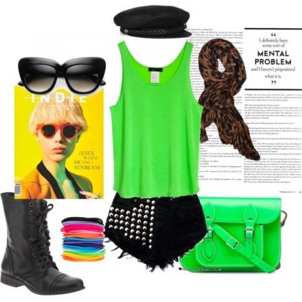 Le vert fluo