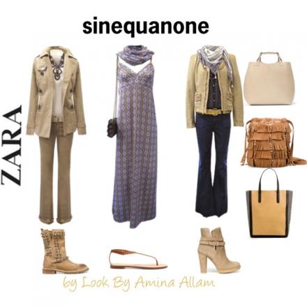 Trois tenues Sinéquanone