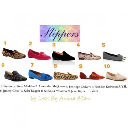 Choisissez vos slippers