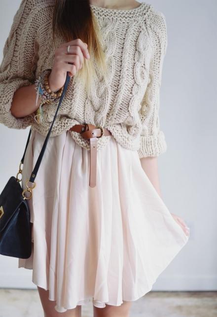 Robe avec pull