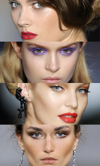 Tendances maquillage printemps 2012