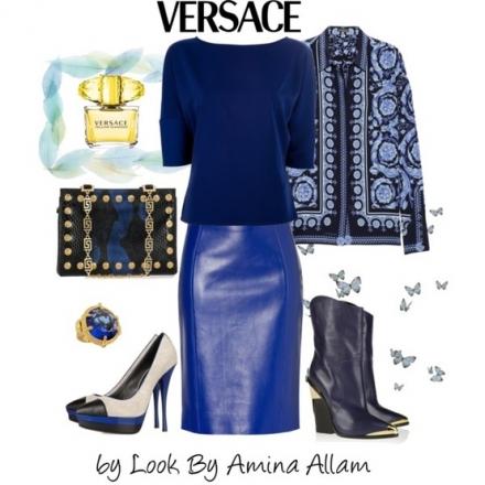 Le bleu par Versace
