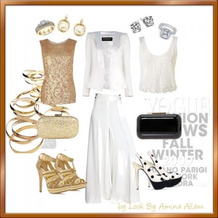 Deux façons de porter un costume blanc