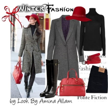 Winter fashion for the urban girl