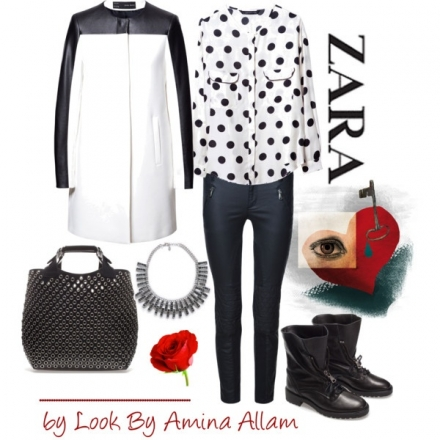 Black & white de Zara