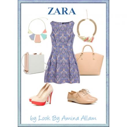 La robe de Zara – jour & soir