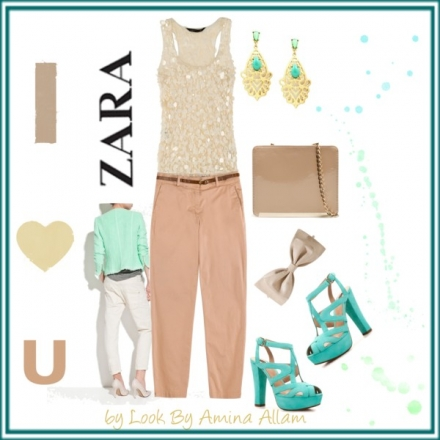 Le nude et le vert de Zara