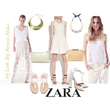 Du blanc de chez Zara